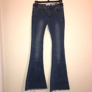 AC for AG   Skin 5 Flare bottom jeans NWT